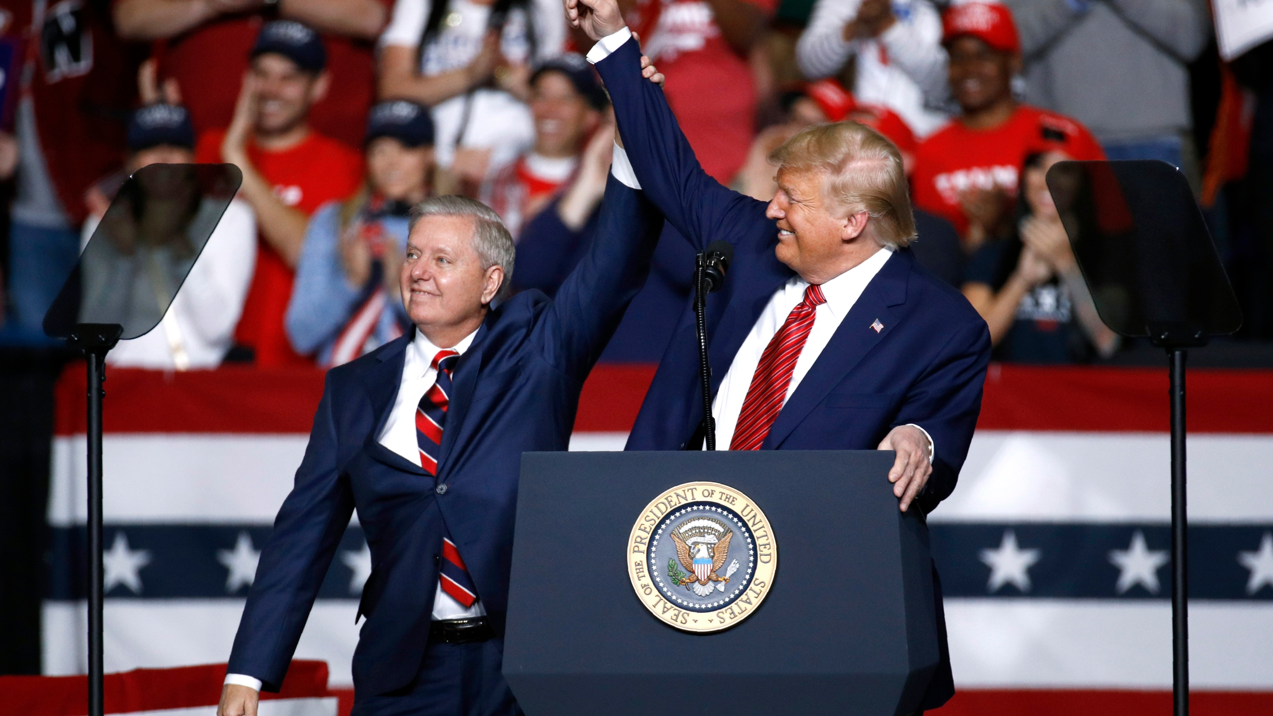 Donald Trump, Lindsey Graham