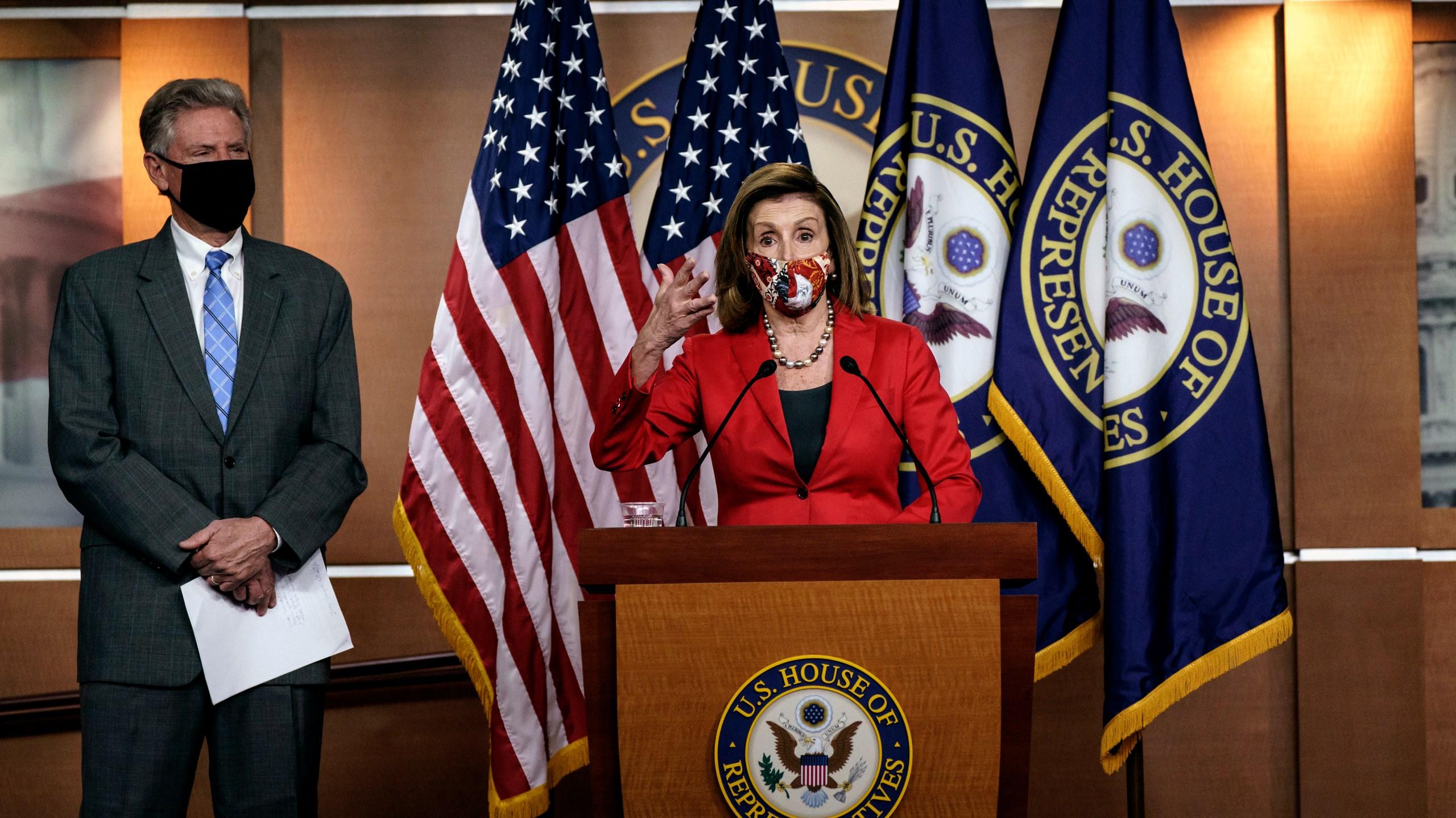 Nancy Pelosi, Frank Pallone