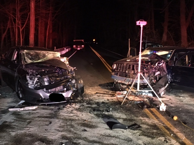 Retired officer killed, two extricated in serious 3-vehicle crash on Rt. 59 in Easton