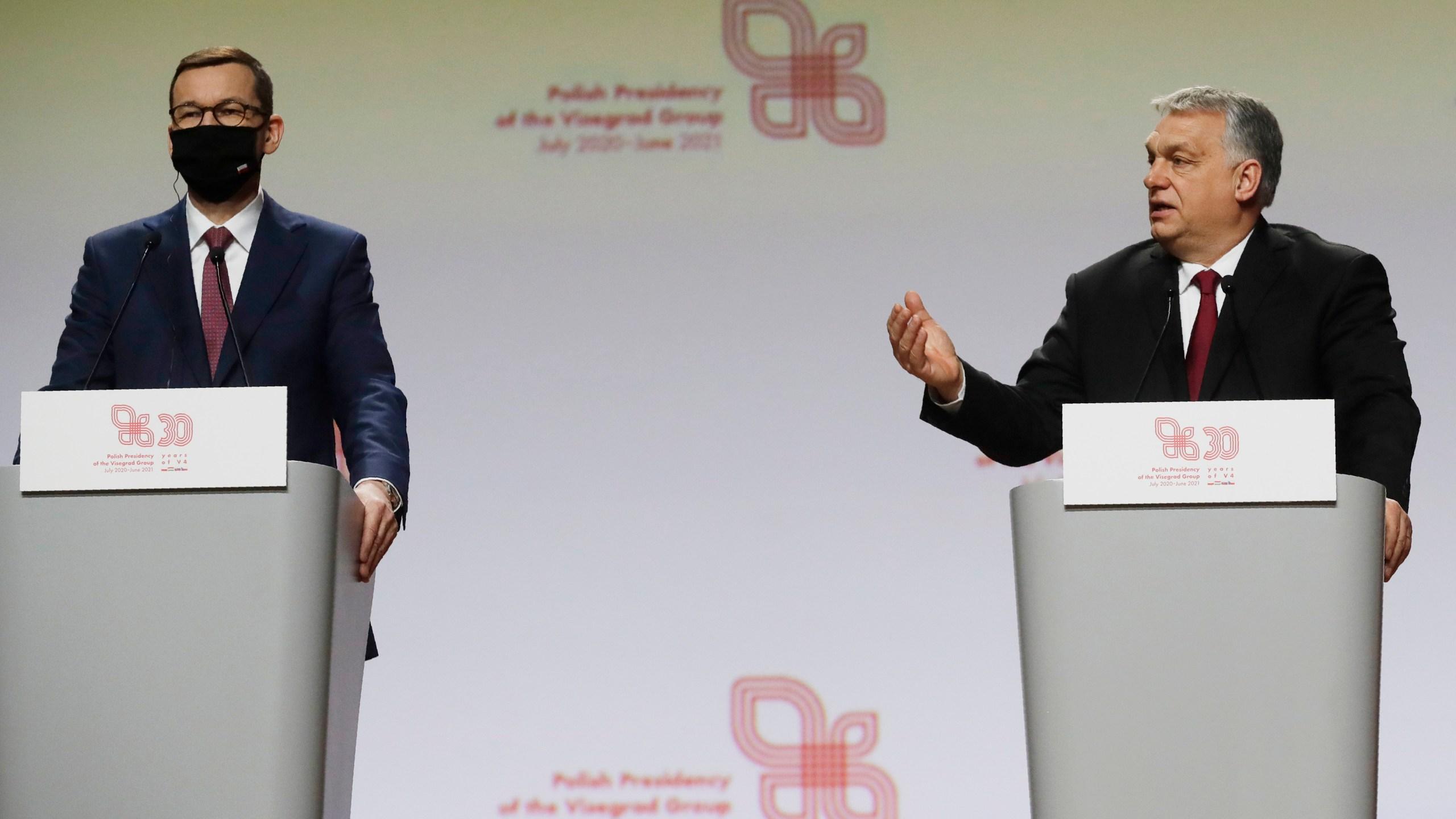Viktor Orban, Mateusz Morawiecki