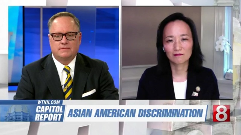 www.wtnh.com: Capitol Report: State Rep. Kimberly Fiorello discusses issue of Asian-American discrimination